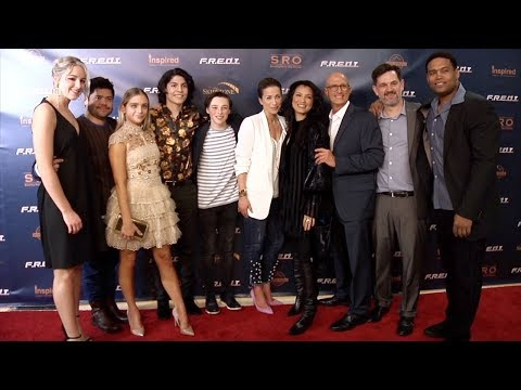 """F.R.E.D.I."" Screening Red Carpet Kelly Hu, Chloe Lukasiak, Casimere Jollette thumbnail"