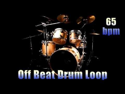 Off Beat Drum Loop 65 bpm