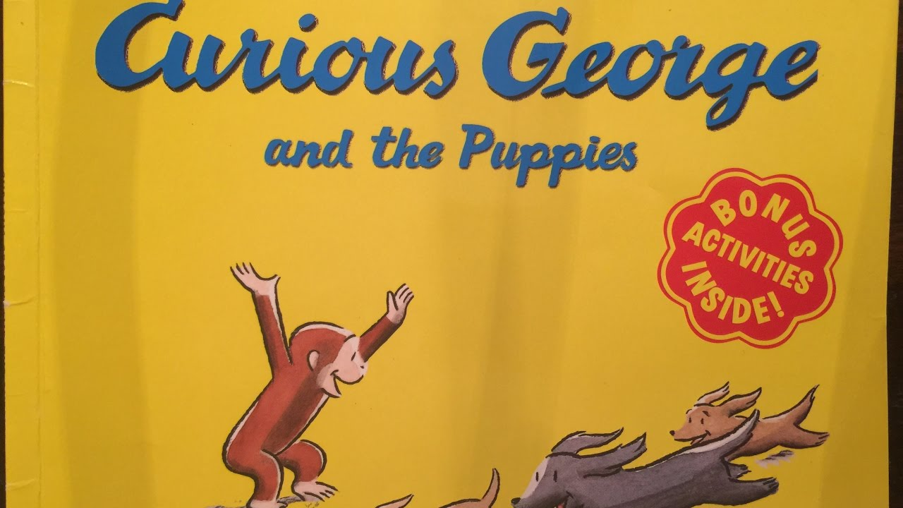 Curious George And The Puppies Children Kids And Toddler Books