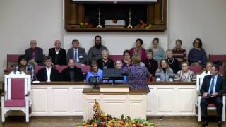 "11/27/16 ""I Gotcha Covered"" - CBC Sanctuary Choir, Heidi Brannen, soloist"