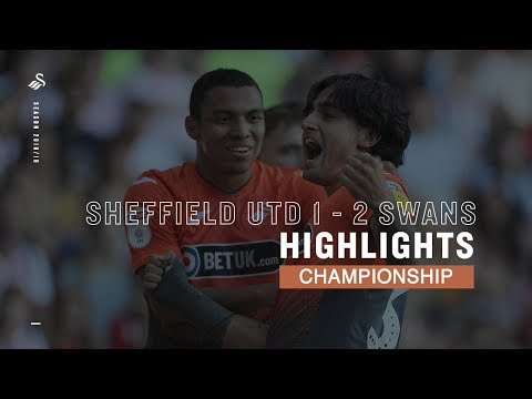 Highlights: Sheffield United 1 - 2 Swans