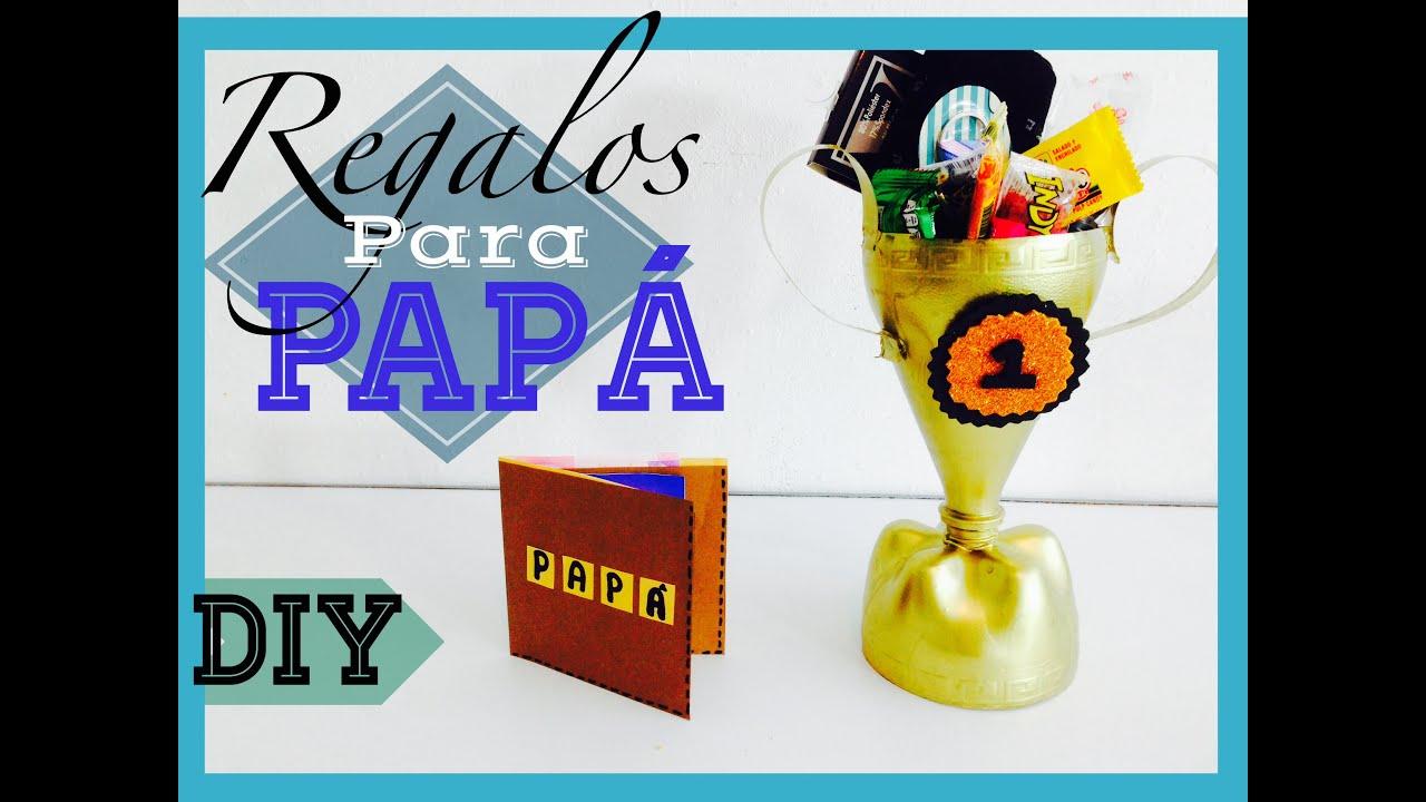 Diy d a del padre regalos para pap f ciles bonitos y - Que regalar a un padre ...