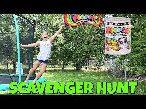 Poopsie Slime Surprise Scavenger Hunt- MAGICAL DIY UNICORN POOP