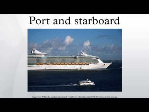 Port And Starboard YouTube - Port or starboard side of cruise ship