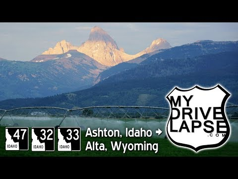 A Drive Around the West Side of the Tetons: Ashton, Driggs, Alta