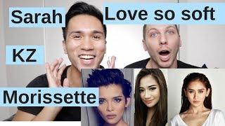 GAYS REACT TO LOVE SO SOFT | SARAH GERONIMO, KZ TANDINGAN, MORISSETTE AMON | ASAP