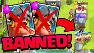 Elite Barbarians BANNED - Clash Royale My Fun Deck - Episode 2!
