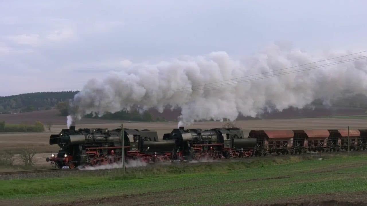 Schwere Güterzüge unter Dampf in Spielfilmlänge/Ein Kessel Buntes ...