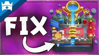 LEVEL CAP ON LADDER? 2 WAYS TO FIX THE LADDER IN CLASH ROYALE || A Detailed Analysis