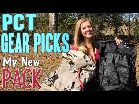 PCT 2017 Gear Picks: My New Pack