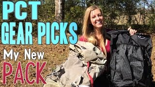 PCT 2017 Gear Picks: My New Pack