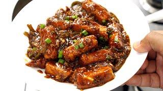 Paneer Manchurian Recipe - Super SOFT Panir Manchuria Restaurant Style - CookingShooking
