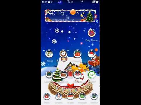 3D Merry Christmas Theme