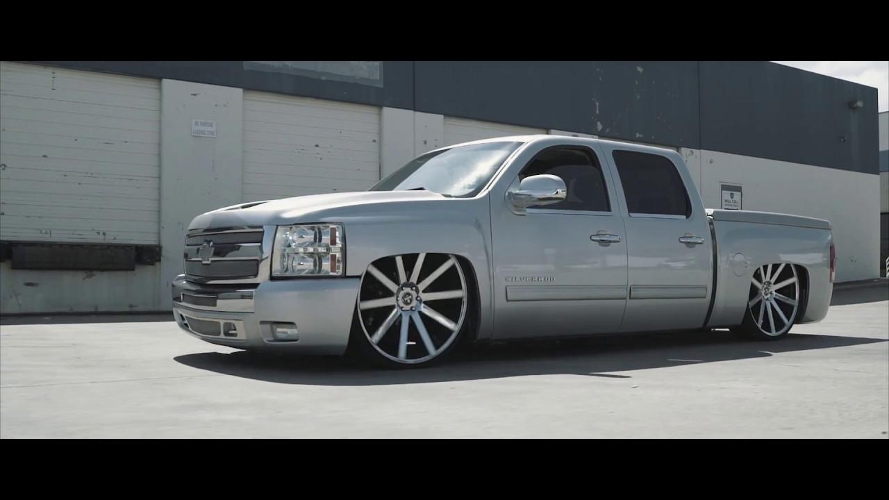 "Dub Wheels ""Shot Calla"" Chevy Silverado - YouTube"