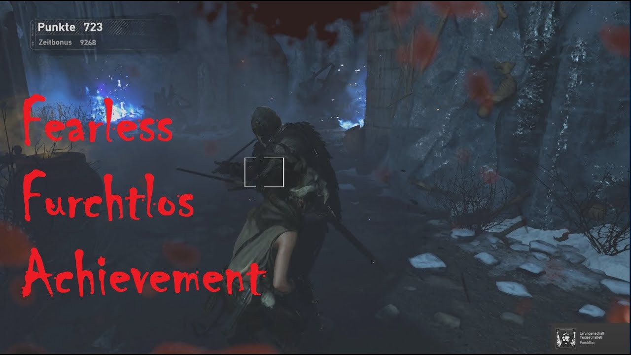 Rise of the Tomb Raider - Fearless/Furchtlos Achievement