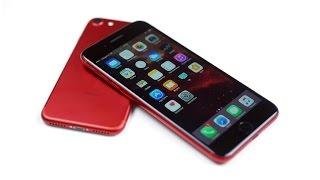Делаем красный iPhone 7 Plus с черной лицевой панелью - PRODUCT (BLACK & RED)(, 2017-03-26T15:50:06.000Z)