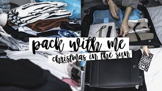 Pack With Me: Christmas In The Sunshine | Copper Garden
