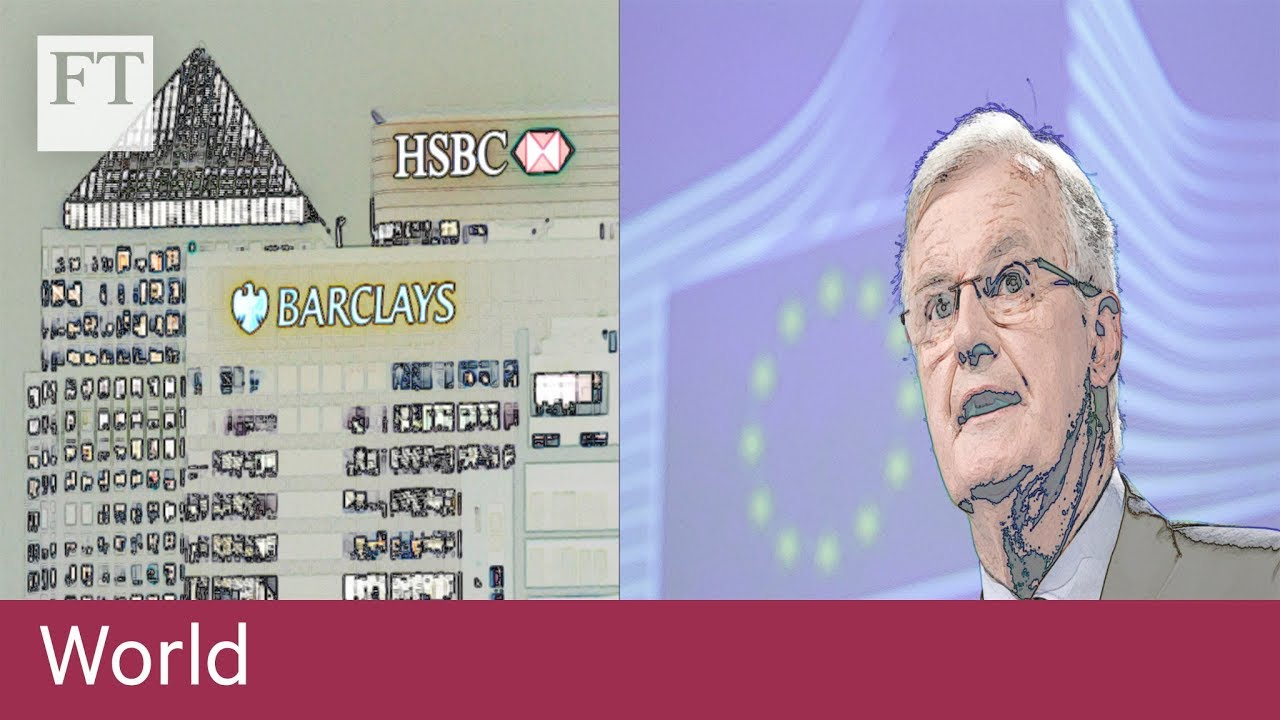 Brexit financial services battle with Brussels explained