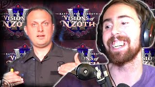 Asmongold Reacts To Visions Of Nand39zoth Reveal  Patch 8.3 Announcement With Ion Hazzikostas