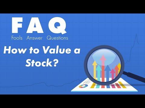 How to Value a Stock - P/E Ratio, P/S Ratio, and PEG Ratio
