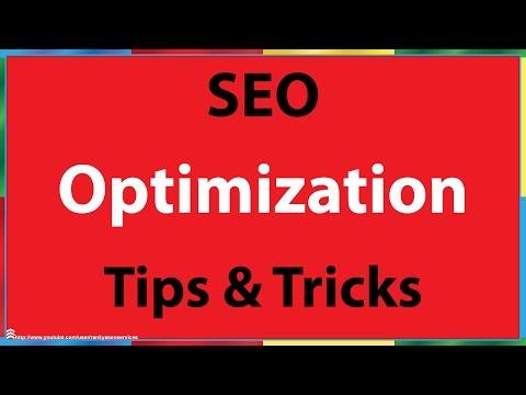 Search Engine Optimization Tips - 동영상