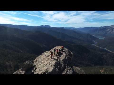Peña Amusgo a vista de Dron (J. Cózar)
