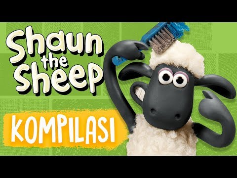 Shaun The Sheep | Full Episodes Compilation 9-12 | Season 5 | Funny Cartoons For Kids
