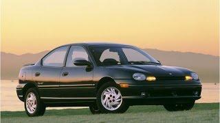 El Chrysler / Plymouth / Dodge NEON: 10 Años de éxito.