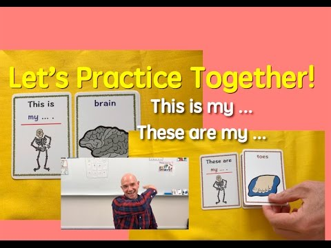 Card Game | Our Body | Singular and Plural Forms | 7 | English Speaking Practice | ESL | EFL | ELL