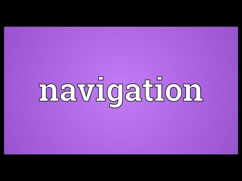 Navigation Meaning