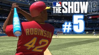 INSIDE-THE-PARK GRAND SLAM IN JACKIE'S DEBUT! | MLB The Show 19 | Diamond Dynasty #5