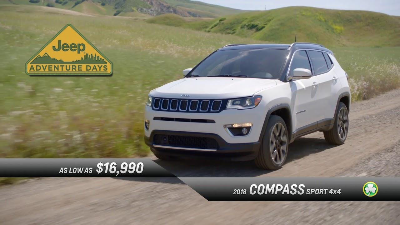 Jake Sweeney Jeep >> Jeep Compasses For 16 900 Jake Sweeney Jeep