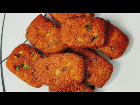 do-you-have-a-cup-of-gram-flour-&-potatoes-?-crispy-evening-snacks-recipe