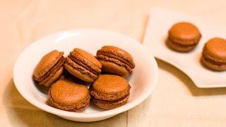 アーモンドを使わずに作るマカロン / Make the Almond Free Macaron.