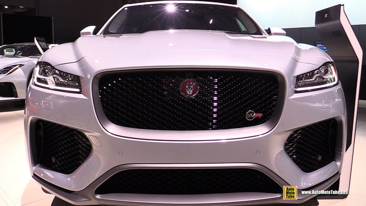 2019 Jaguar F Pace Svr Exterior And Interior Walkaround 2018 New