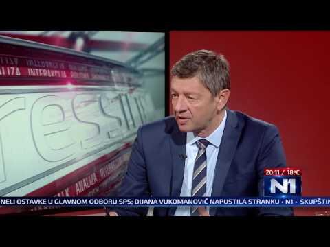 N1 Pressing: Vladan Vukosavljevic (4.10.2016)