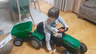 Römorklu traktörümüzün kurulumunu görmüşmüydünüz.