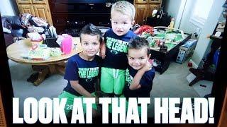 KIDS REACT TO CHILDHOOD PHOTOS