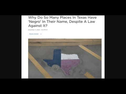 A Texas Name Problem