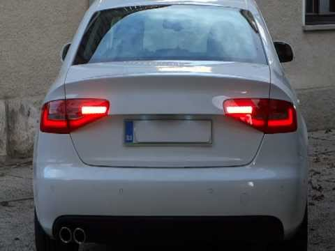 audi a4 b8 8k 2008 with 2013 facelift led rear lights. Black Bedroom Furniture Sets. Home Design Ideas