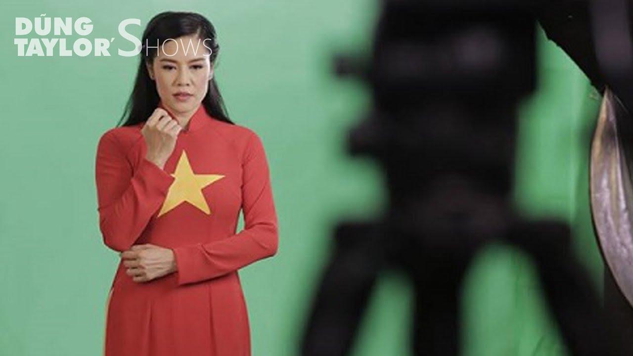 Sự thật về ca sĩ Thu Phương & tà áo dài cờ đỏ sao vàng | Dũng Taylor's Shows