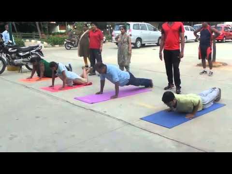 Bangalore Fitness Challenge