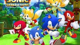 Ps Now   Sonic Generation   (live Stream#2)   Test & Performance.