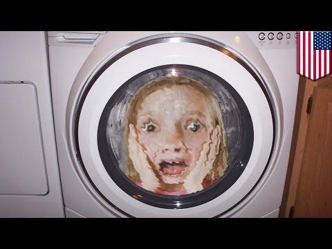 5歳女児が洗濯機で回され入院