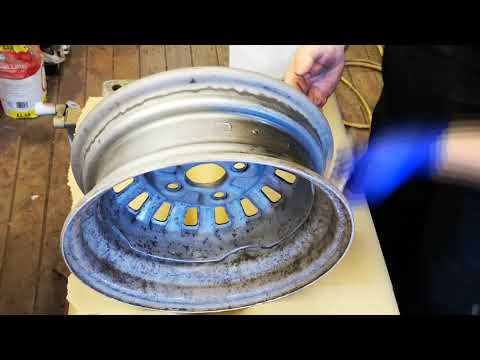 Rusted Steel Wheel Rescue DIY Restoration At Home