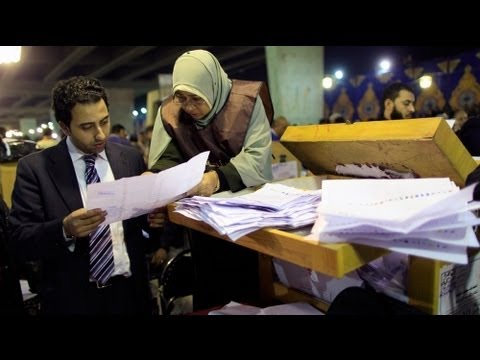 Islamists polling strongly in Egyptian vote