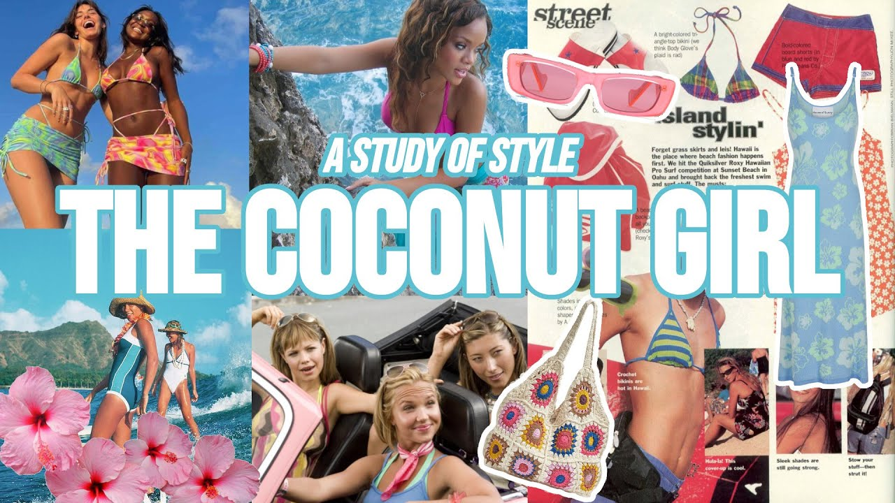what is the coconut girl aesthetic? 🌴🥥🌊