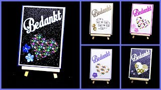 Washi Tape Ideen DIY Inspiration | Basteln mit Papier und Masking Tape | Bastelideen Grußkarten