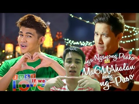 ABS-CBN Christmas Station ID vs GMA Network Christmas Station ID | REACTION | Jera Gallero