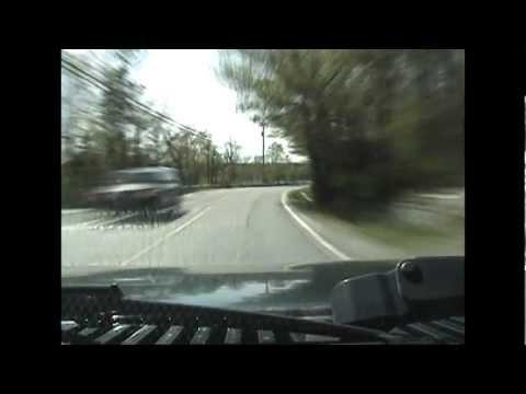 Driving Nova Scotia Route 318 (Waverley Road)